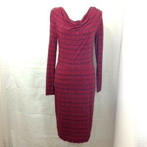Boden Pullover Dress Long Sleeve Cowl Neck